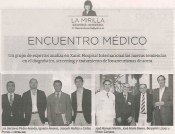 Encuentro Médico, entrevista al Dr Pedro J. Aranda