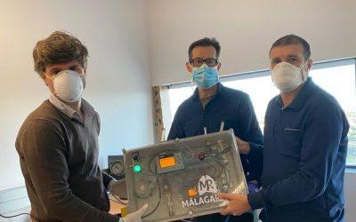 El respirador 'Andalucía Respira' supera con éxito el segundo ensayo en humanos